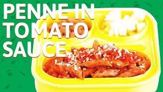 Penne Pasta with Tomato Sauce Recipe - Cream Tomato Sauce w/ Penne Pasta - Penne Pasta For Kids