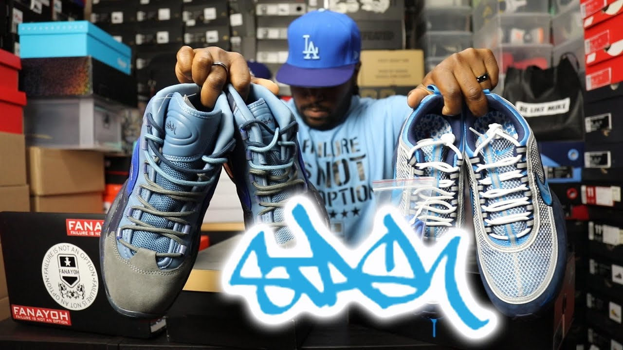 52165443a1e7 Art   Sneakers!!! Stash x Air Zoom Spiridon vs. Stash x Reebok ...
