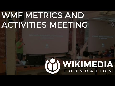 Wikimedia Foundation metrics and activities meeting - March 2016