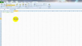 VideoExcel - How to record a macro in Excel 2010