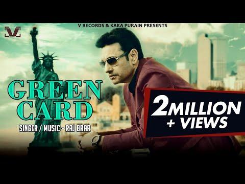 Green Card - Full Song 2018 | Raj Brar | Latest Punjabi Songs 2018 | V Records