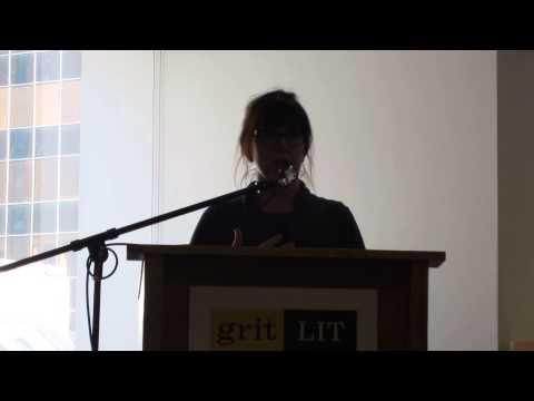 Lauren B. Davis reading from The Empty Room at Grit Lit Festival