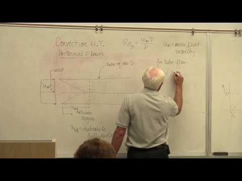 Heat Transfer: Internal Flow Convection, Part I (22 of 26)