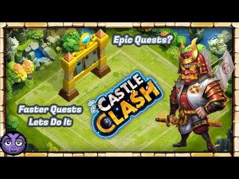 CASTLE CLASH | Faster Quest Completion | Possible?