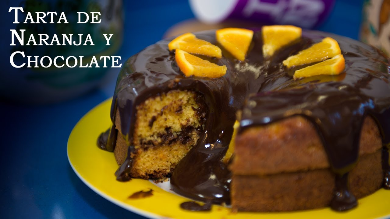 Tarta De Naranja Y Chocolate Facil Y Riquisima