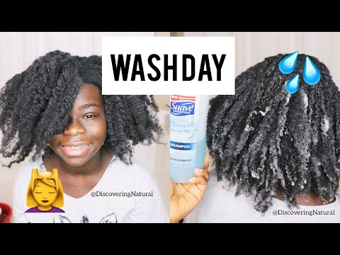 Another Natural Hair Wash Day Routine 🌝