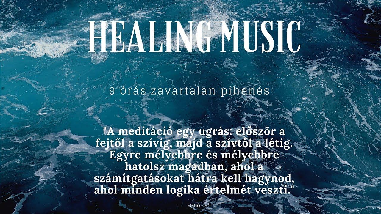 Pihentető alvást segító zene hosszú mély alváshoz ★ 9 óra Relaxing sleeping music for deep sleep