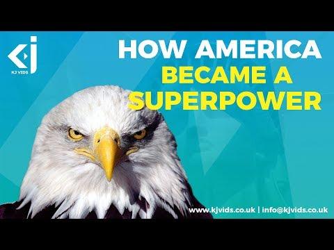 How AMERICA Became A SUPERPOWER - KJ Vids