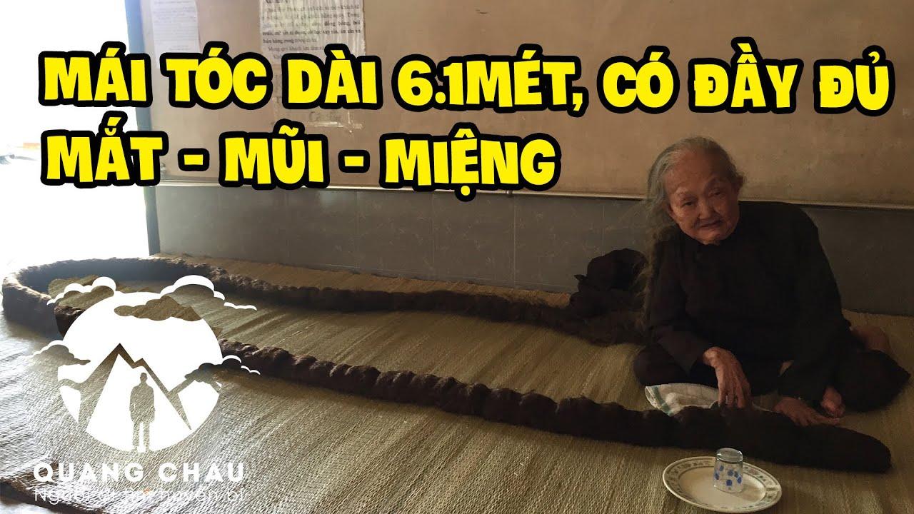 """Bà Tư Định có mái tóc dài 6.1m được cho là """"Thần Tiên Giáng Thế"""" Độc Nhất Thế Giới – Phần 1"""