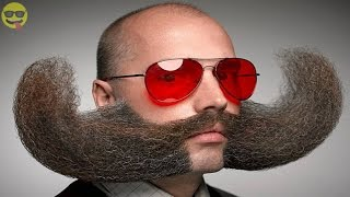 35 Most Craziest Beard and Moustache