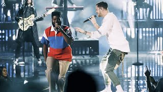 "Imagine Dragons, Khalid - ""Thunder / Young Dumb & Broke"" Live (AMA's 2017)"