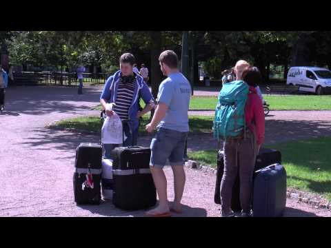 Lund University Arrival Day 2013