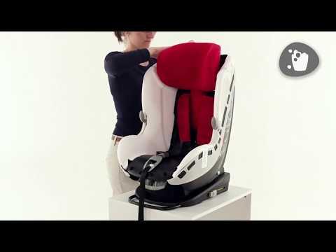 Maxi-Cosi L MiloFix Car Seat L How To Remove & Replace The Cover