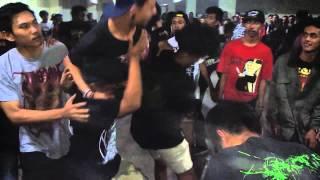 Stench Of Virginity - Palasik Human Corpse live at Bukittinggi For The Punx