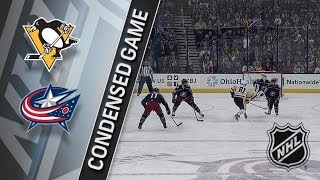 Pittsburgh Penguins vs Columbus Blue Jackets – Apr. 05, 2018 | Game Highlights | NHL 2017/18. Обзор