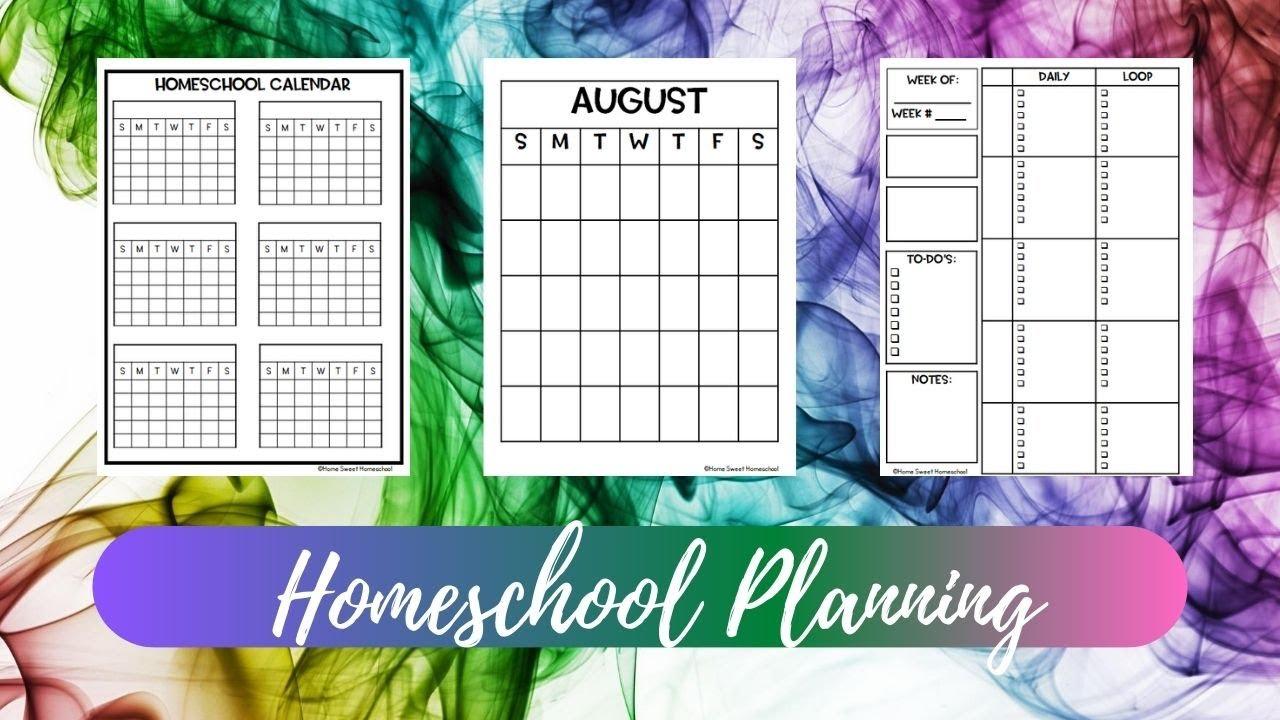 Homeschool Planning | Homeschool Planner