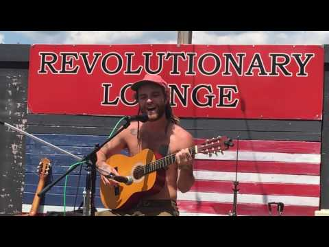 BJ Jackson of Thomas Wesley Stern solo performance at the revolutionary lounge Toms River NJ