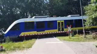 Bahnübergang Badbergen, Am Judenfriedhof // Railroad Crossing // Spoorwegovergang