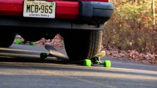 Apex 40 Longboard vs. Truck Impact