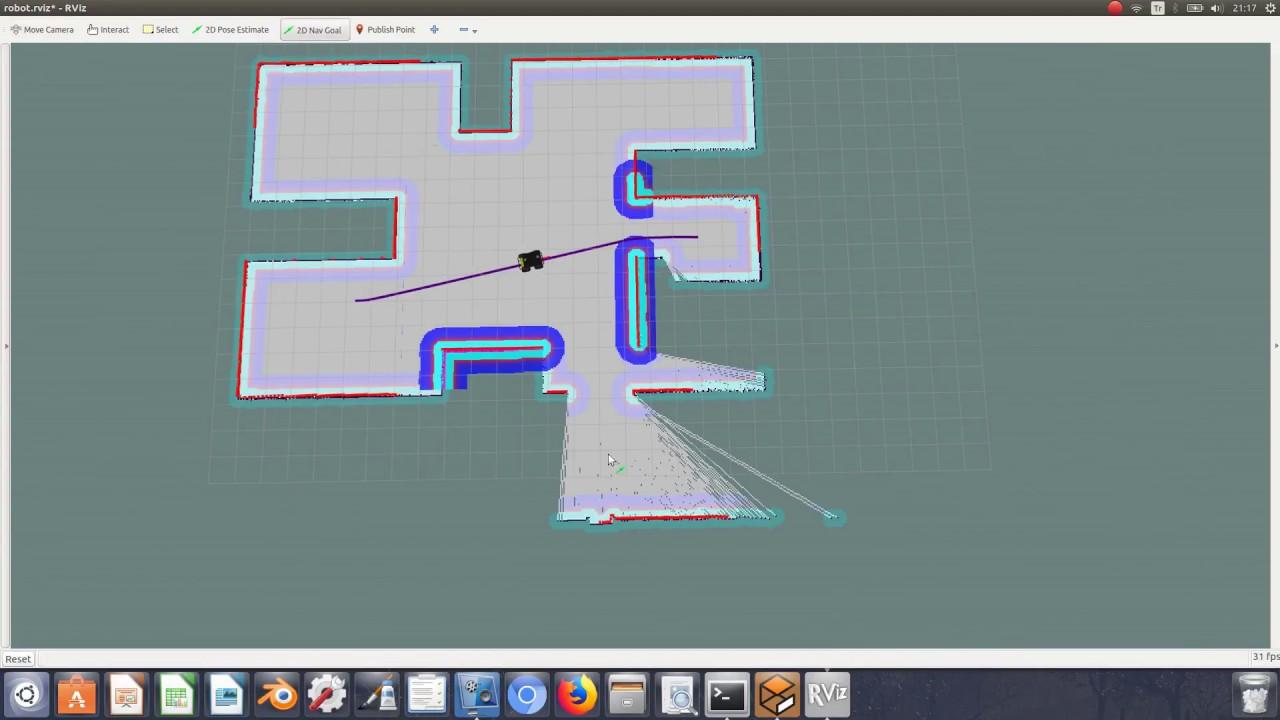 Gmapping SLAM with Husky Robot