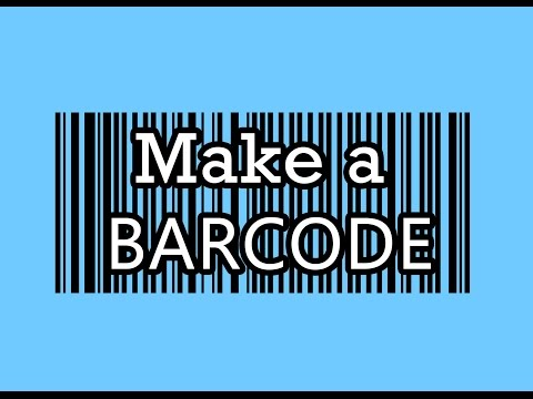 how to create barcode HD