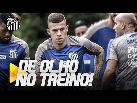 COM JOBSON, SANTOS TREINA ANTES DE DUELO CONTRA O VASCO | DE OLHO NO TREINO (16/04/19)