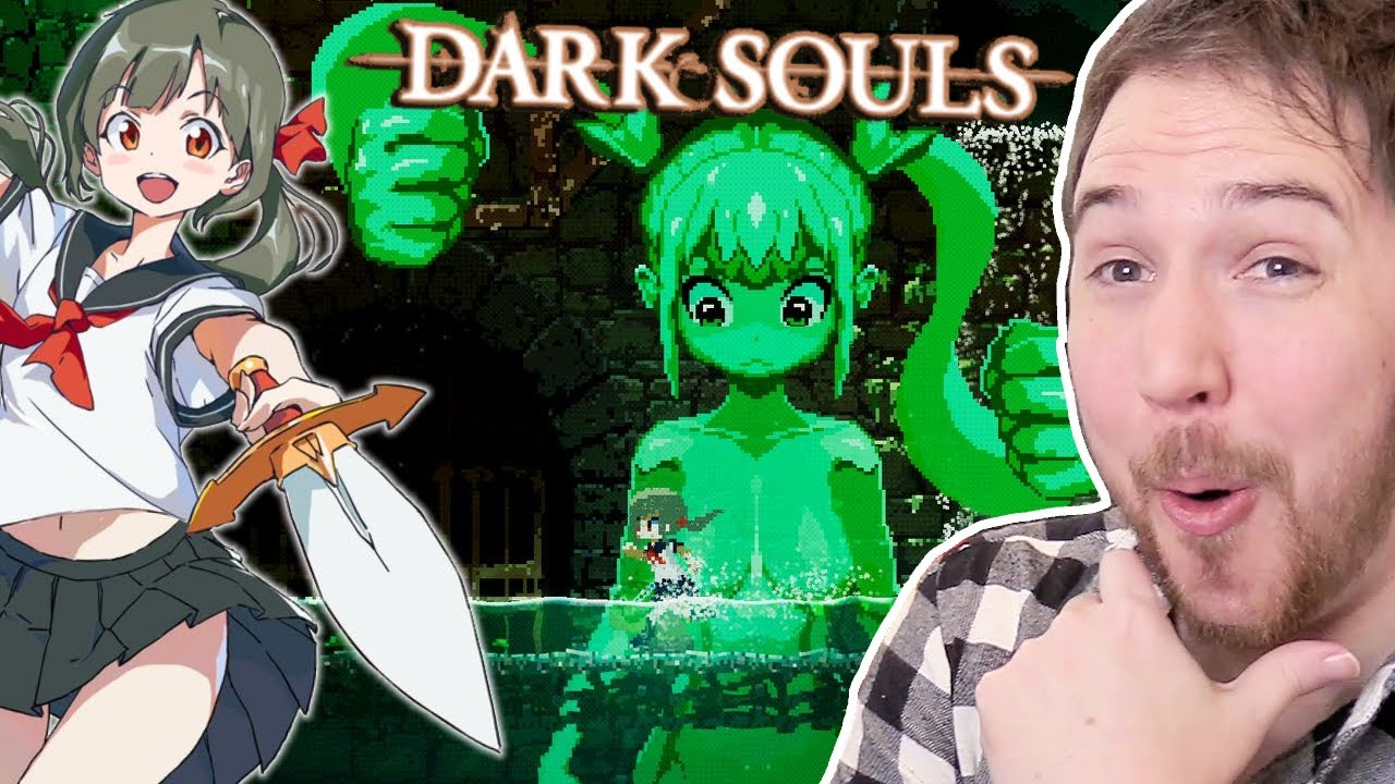 Dark Souls but everything is cute anime girls