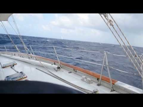 Caribbean Sailing single handed Grenada to Antigua Jan 2011 1)