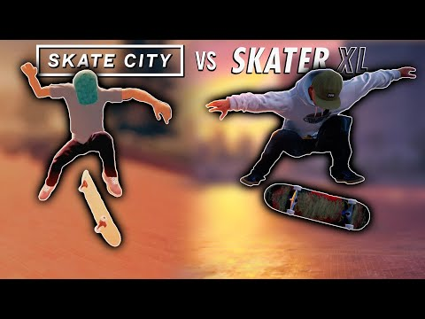 What People Think SKATE CITY Does Better Than SKATER XL