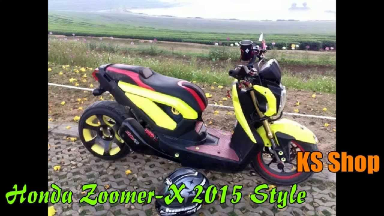 Honda Zoomer X 2015 Modified