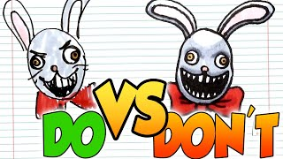 DOs & DON'Ts Drawing Mr Hopp's Playhouse 2 In 1 Minute CHALLENGE!