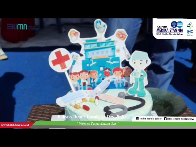 Baksos Donor Darah di Klinik Medika Stannia Belinyu