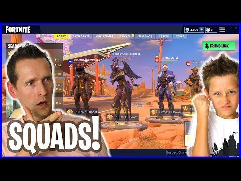 Playing SQUADS With Ronald And Friends