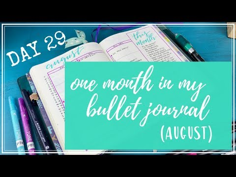 One Month in my Bullet Journal | Round 2 | Day 29