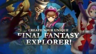 Final Fantasy Explorers – Customization