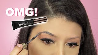 OMG!!! New Maybelline Tattoo Studio Brow Gel | Review