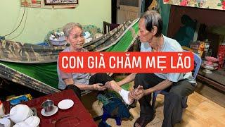 Con 63 tuổi bệnh nằm một chỗ bỗng khỏe mạnh chăm sóc mẹ già 88 tuổi bán vé số bị xe đụng!