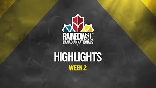 Rainbow Six Canadian Nationals: Online Circuit | Week 2 Highlights Reel | Ubisoft [NA]