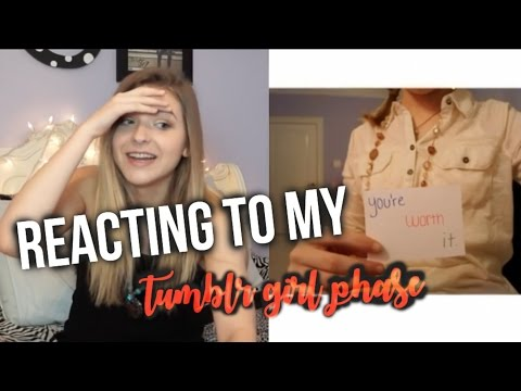 MY TUMBLR GIRL PHASE | Caroline Dare