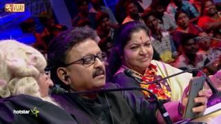 Super Singer Junior - Mannil Indha Kadhalandri by SPB and Mano