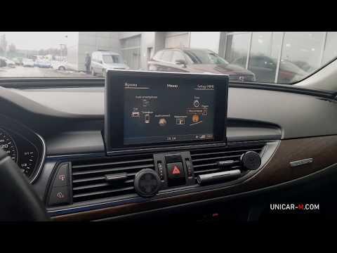 Audi A6 MMI3G-4G-4G+  и моноблок с ОС Андроид 8.0.1 (2012-2016)