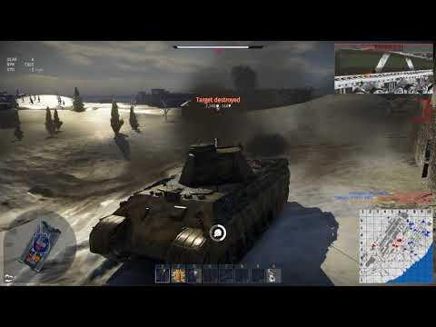 War Thunder: Panther x5 Kill of 6