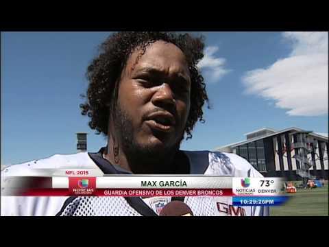 Max Garcia de los Broncos de Denver