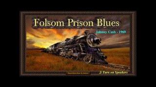 Johnny Cash  - Folsom Prison Blues Karaoke 20160206