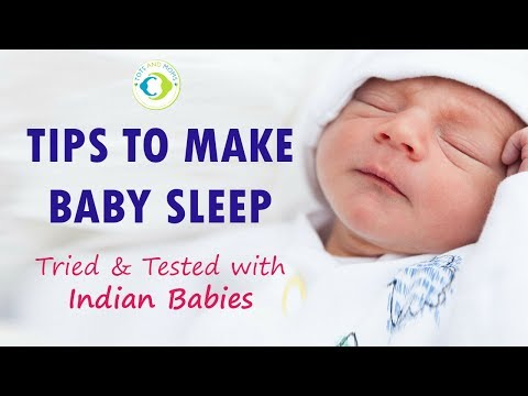 How to make Baby Sleep Whole Night   Tried & Tested with Indian Babies