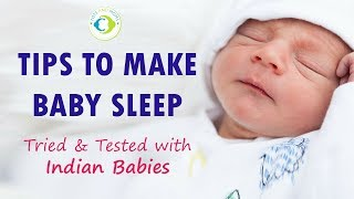 How to make Baby Sleep Whole Night | Tried & Tested with Indian Babies