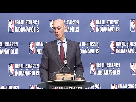 Announcement of Indianapolis to host 2021 NBA All-Star Game