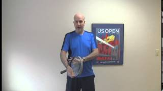 Sports Tips - Learning to twirl a tennis racquet - tennis fun!