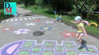 Игра в детские классики и необычный тренажер для детей