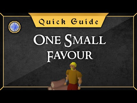 [Quick Guide] One Small Favour